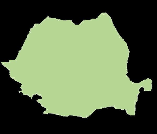 Rumunia mapa