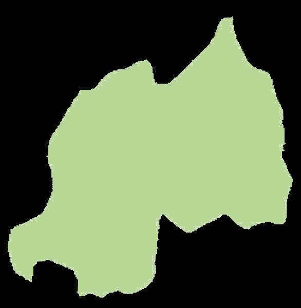 Rwanda mapa