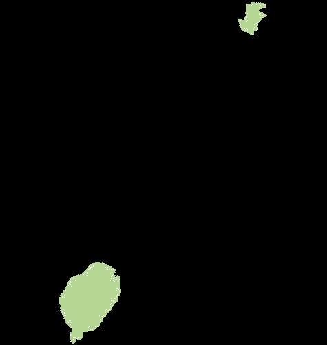 Wyspa św. Tomasza mapa