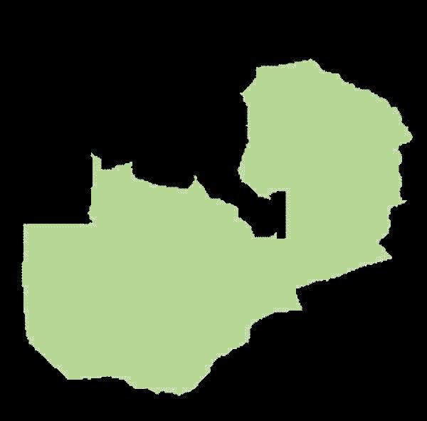 Zambia mapa