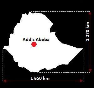 Etiopia mapa