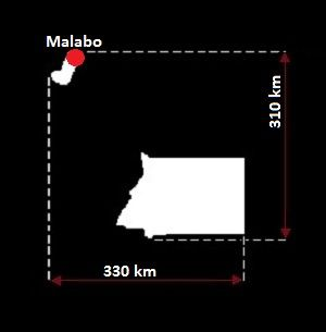 Gwinea Równikowa mapa
