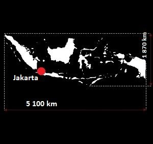 Indonezja mapa