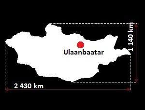 Mongolia mapa