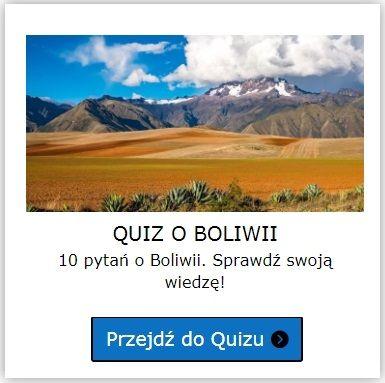 Boliwia quiz