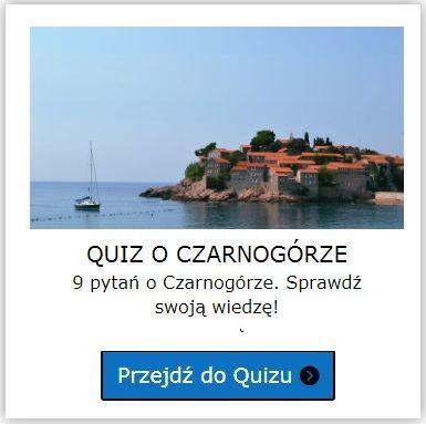Czarnogóra quiz