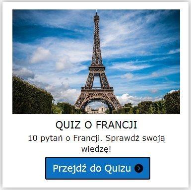 Francja quiz