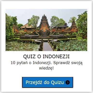 Indonezja quiz