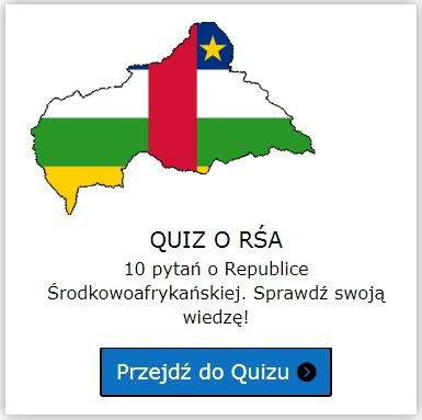 Republika Środkowoafrykańska quiz