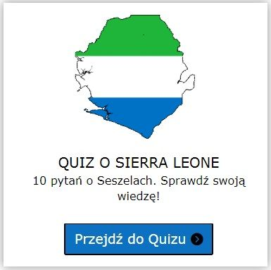 Sierra Leone quiz