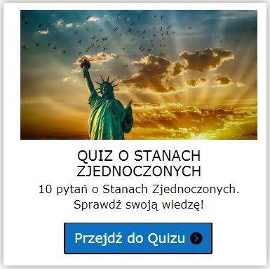 Stany Zjednoczone quiz