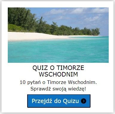 Timor Wschodni quiz