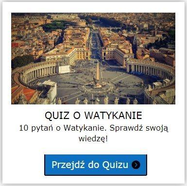 Watykan quiz