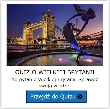 Wielka Brytania quiz