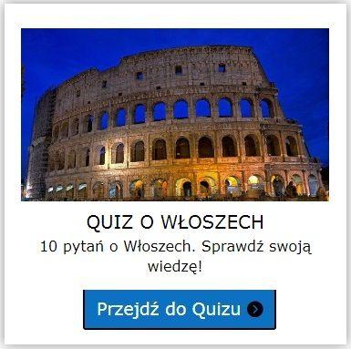 Włochy quiz