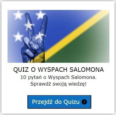 Wyspy Salomona quiz