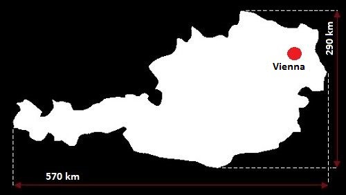 Wiedeń mapa