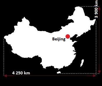 Pekin mapa