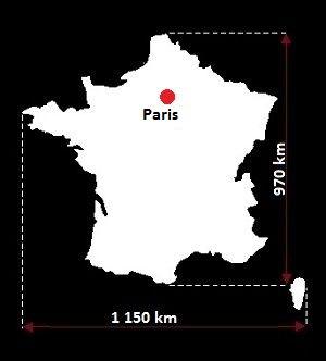 Paryż mapa