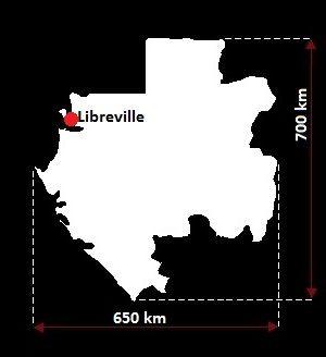 Libreville mapa