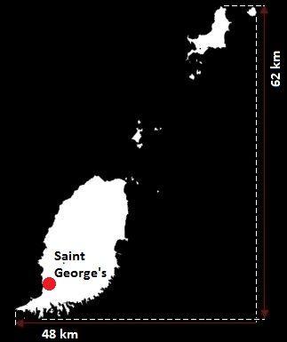 Saint George's mapa
