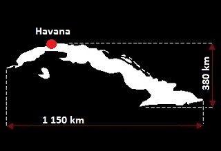 Hawana mapa
