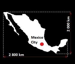 Meksyk mapa