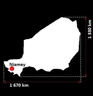 Stolica Nigru - mapa