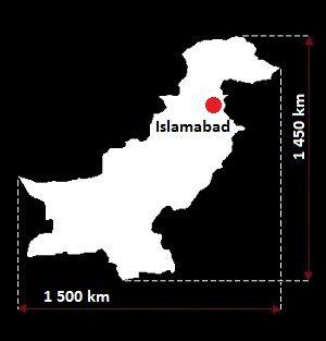 Stolica Pakistanu - mapa