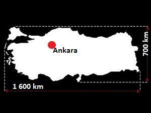 Stolica Turcji - mapa