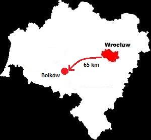 Bolków mapa