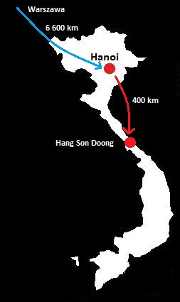 hang son doong mapa