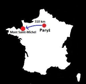 Mont Saint-Michel mapa