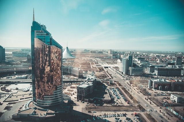 Kazachstan grafika