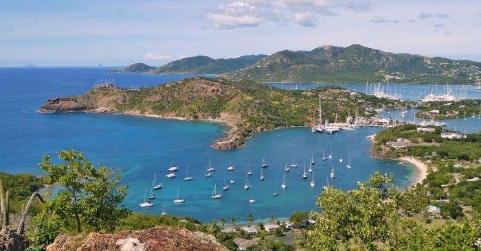 Antigua i Barbuda grafika 2