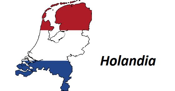 Holandia geografia