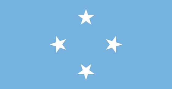 Mikronezja flaga