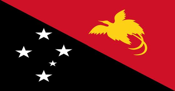 Papua-Nowa Gwinea flaga
