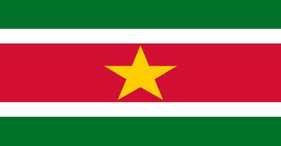Surinam flaga