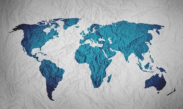 Powierzchnia krajów
