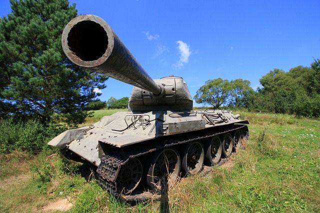 Sprzęt wojskowy czołgi