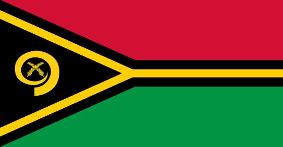 Vanuatu rekordy