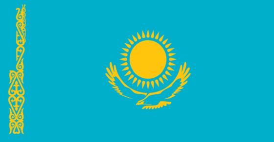 Kazachstan geografia