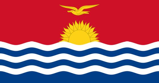 Kiribati flaga