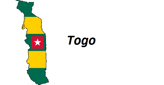 Togo rekordy