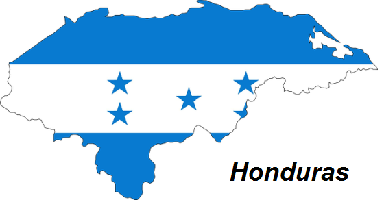 Honduras geografia