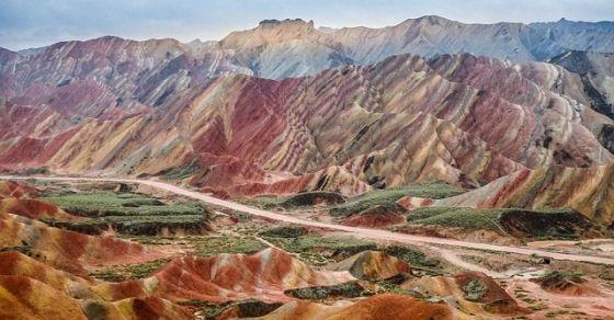 tęczowe góry