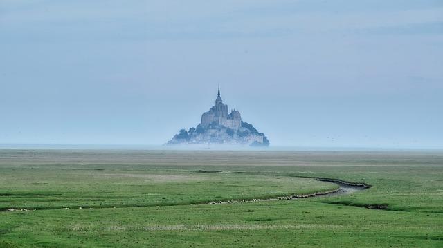 Mont Saint-Michel grafika3