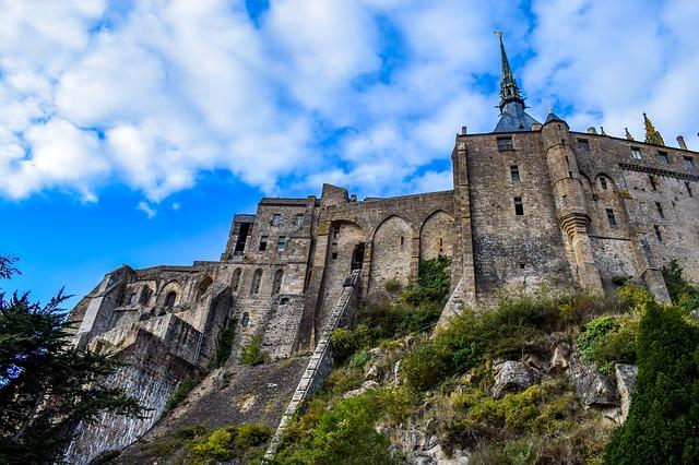Mont Saint-Michel grafika4