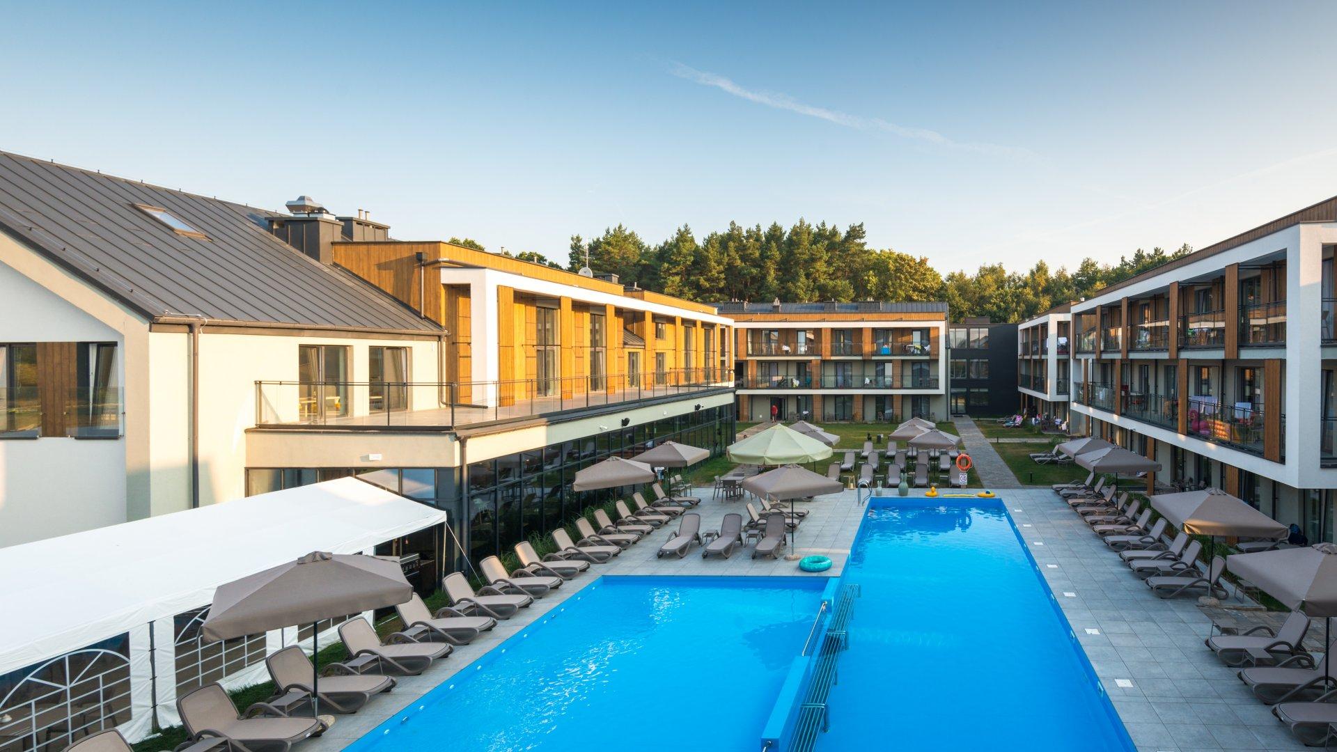 luksusowy resort ze Spa nad morzem